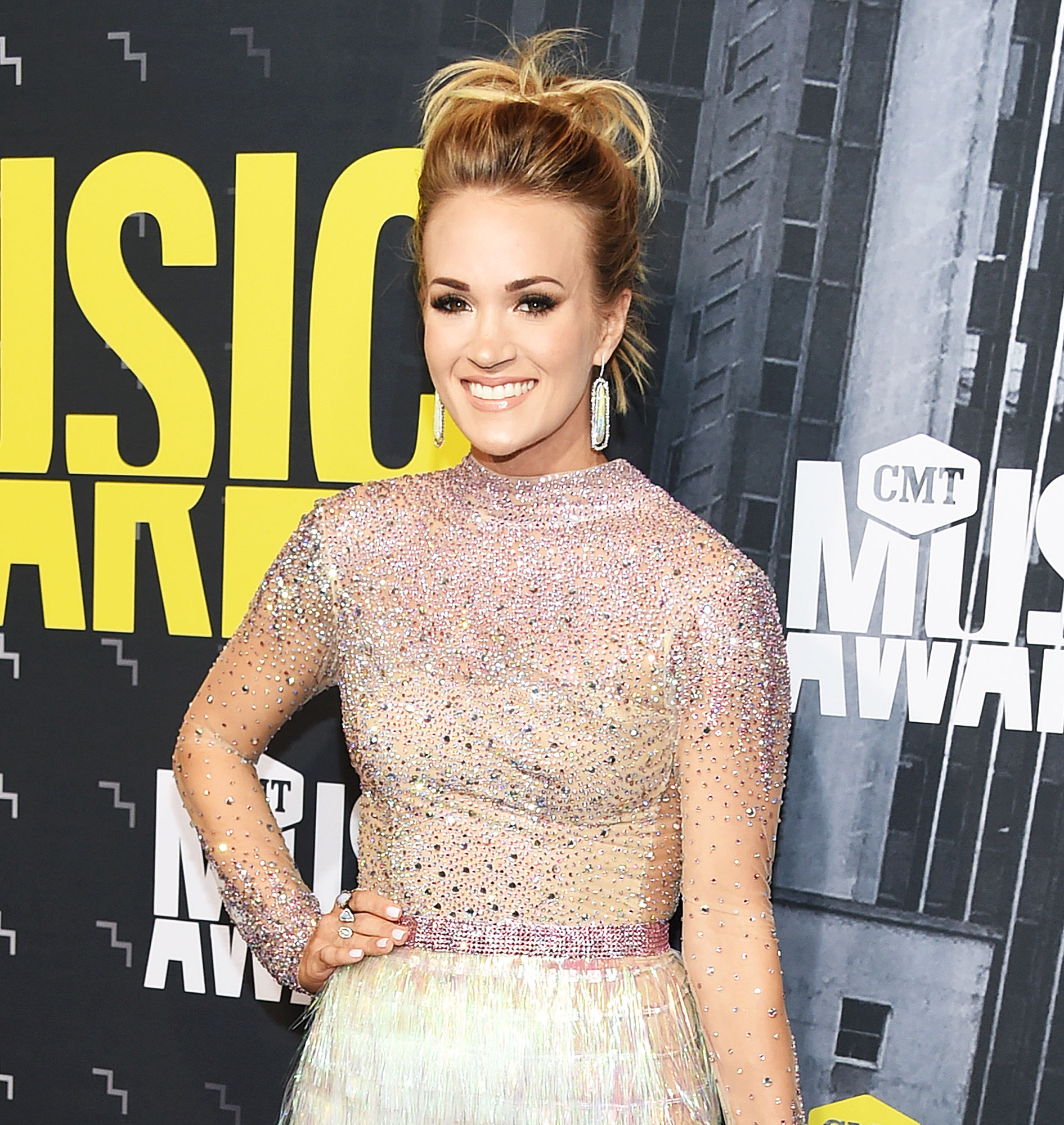 Carrie Underwood Stranger Drink Rookie Parenting Mistake