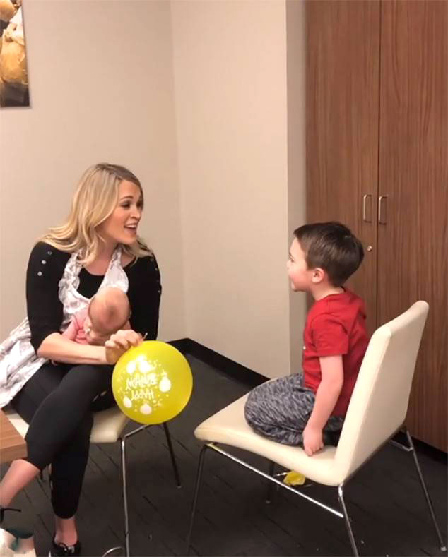 "Carrie Underwood's Most Badass Moments Touring with Isaiah - The songwriter took her son Isaiah on the road for her 2016 Storyteller Tour when he was only 11 months old. ""He was right there when we had our first show. And it was really hard,"" she recalled to PopCulture.com ."