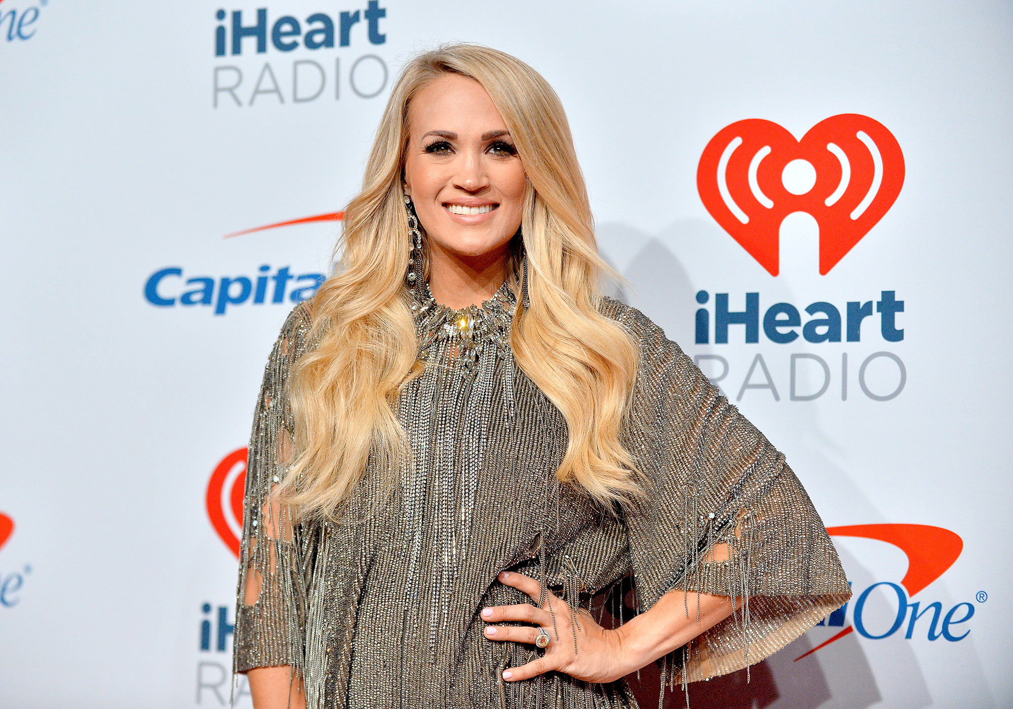 Carrie Underwood's Son Calls Her 'Carefree Underwear' - Carrie Underwood attends the iHeartRadio Music Festival at T-Mobile Arena on September 22, 2018 in Las Vegas, Nevada.