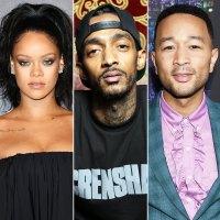 Celebrities Pay Tribute Nipsey Hussle Dead