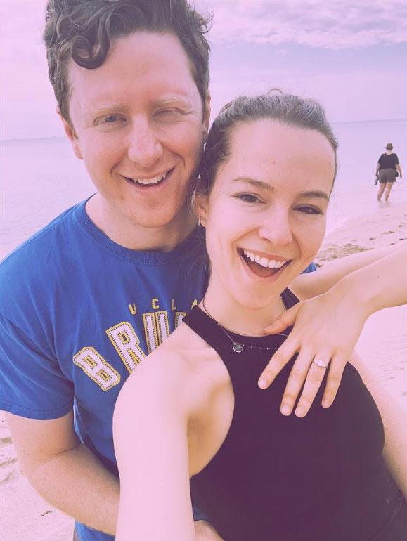 Bridgit Mendler Griffin Cleverly Celebrity Engagements 2019