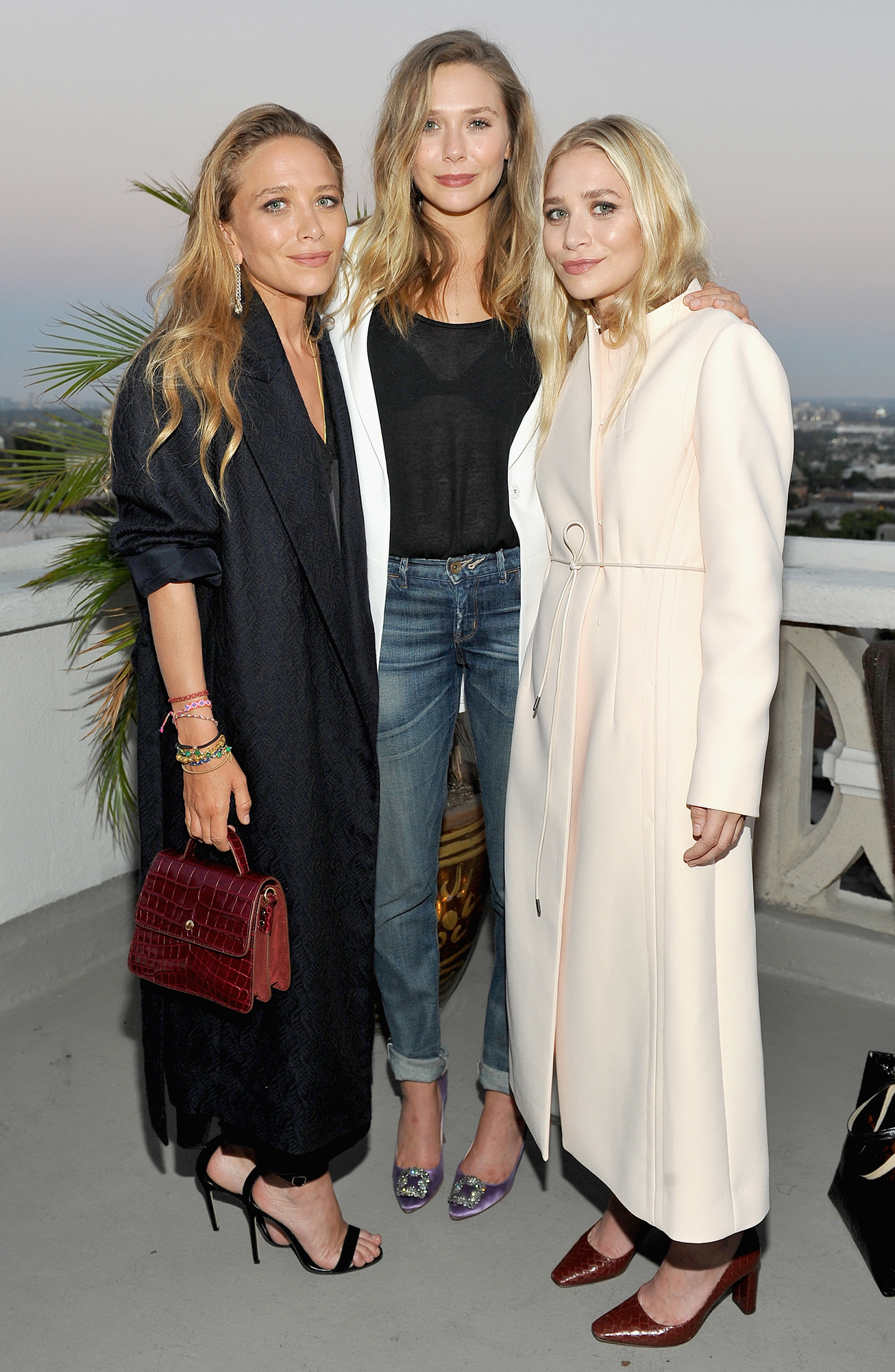 Celebrity Siblings - Rising to fame in 1987 while sharing the role of Michelle Tanner on Full House , twins Mary-Kate and Ashley —whose younger sister Elizabeth Olsen is also an actress — built their own movie empire with Dualstar productions once Full House wrapped in 1995. The elder Olsens have since gone on to launch their own hugely successful clothing lines, The Row, Elizabeth & James and Olsenboye, all the while guiding their younger sis.