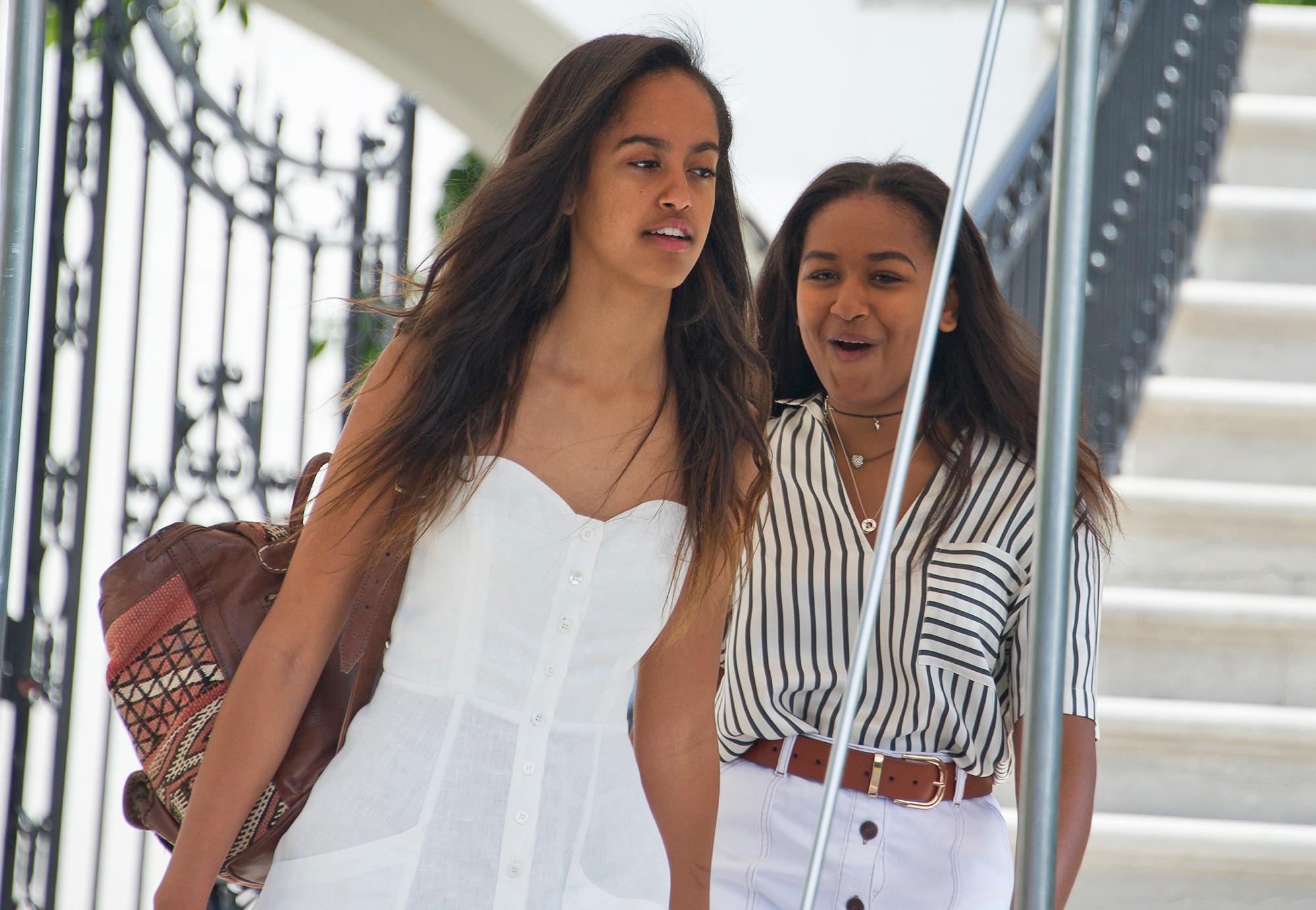 Celebrity Siblings - These two grew up in the public eye during their formative years, when father Barack Obama served as the 44th president of the United States from 2009 to 2017. Malia became a student at Harvard University in August 2017, while Sasha is reportedly considering the University of Michigan.