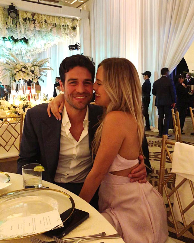 Celebs Party Val Chmerkovskiy Jenna Johnson Wedding - The bride's DWTS season 27 partner and his Bachelor in Paradise love enjoyed the reception that night.