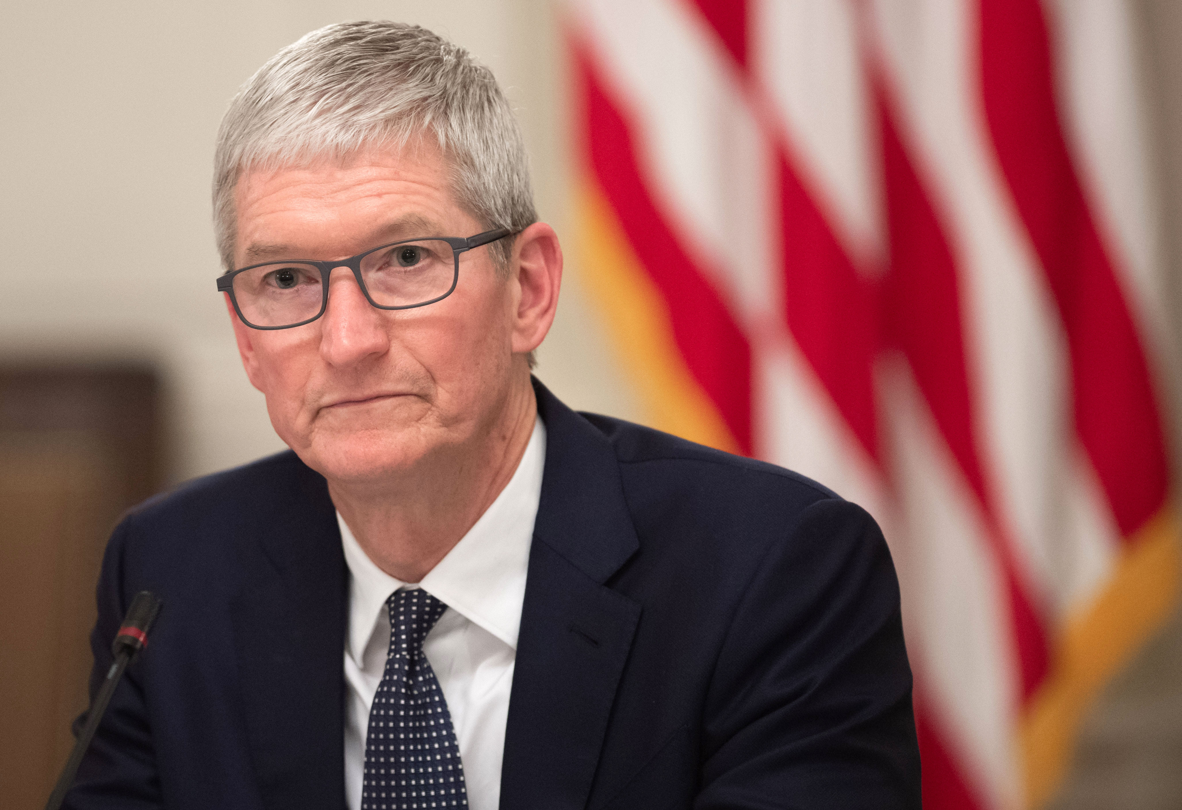 """Tim Cook React Sri Lanka Bombings - The Apple CEO shared on Twitter: """"We grieve for those affected by the violence and devastation of today's attacks in Sri Lanka. Today of all days we are reminded of the sacrifices that have been made for peace, and that love will always rise up and triumph over hate."""""""