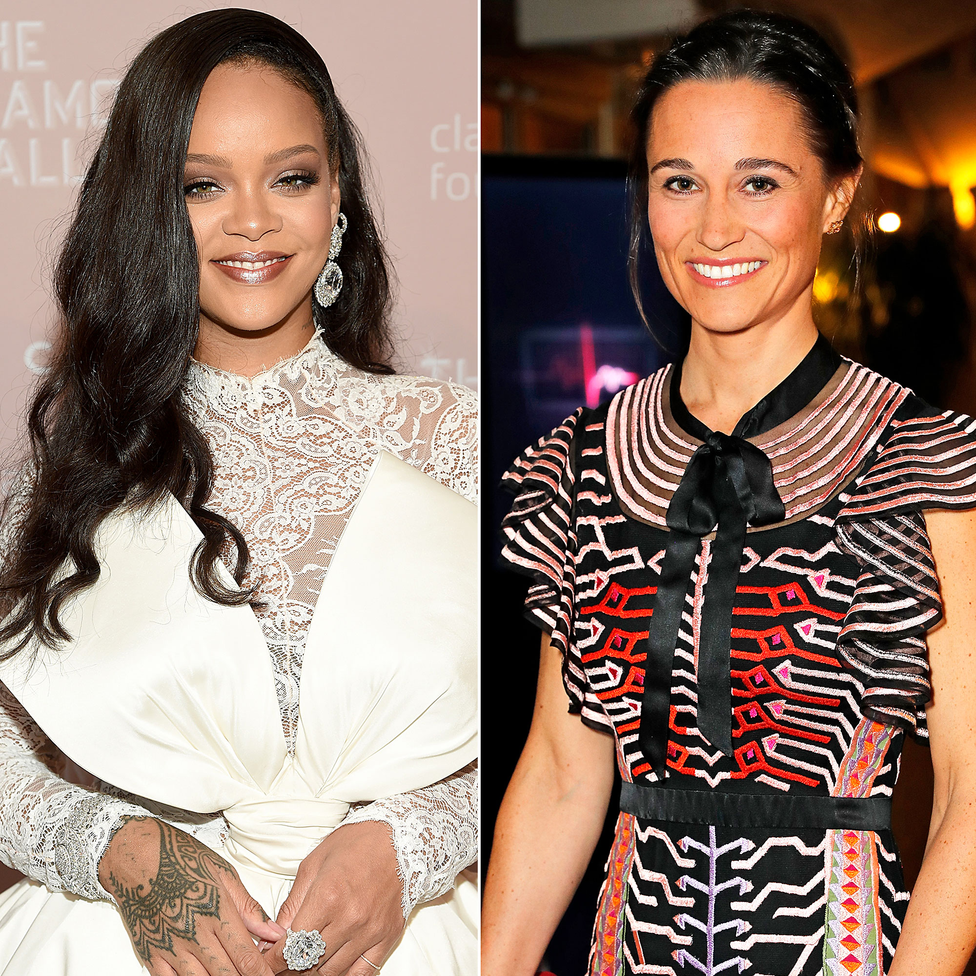 Celebs Who Have Looked Like Food - Rihanna and Pippa Middleton.