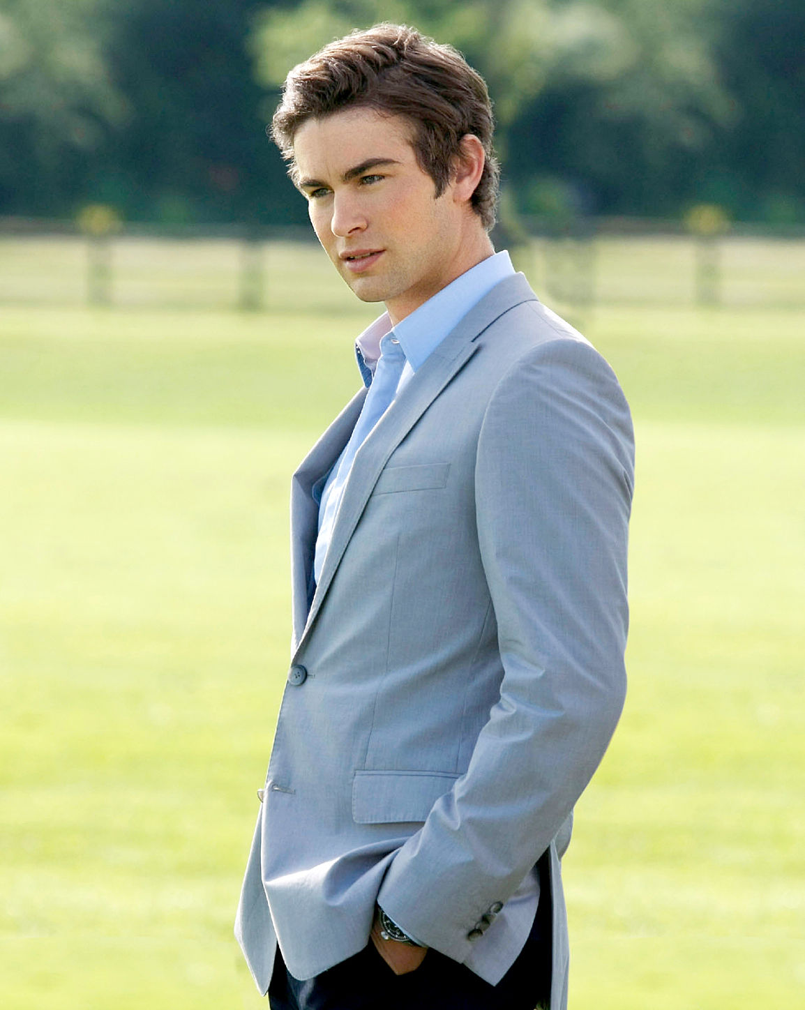 Chace Crawford as Nate on Gossip Girl