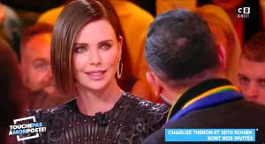 Charlize Theron Shuts Down Man Who Kissed Her Interpreter