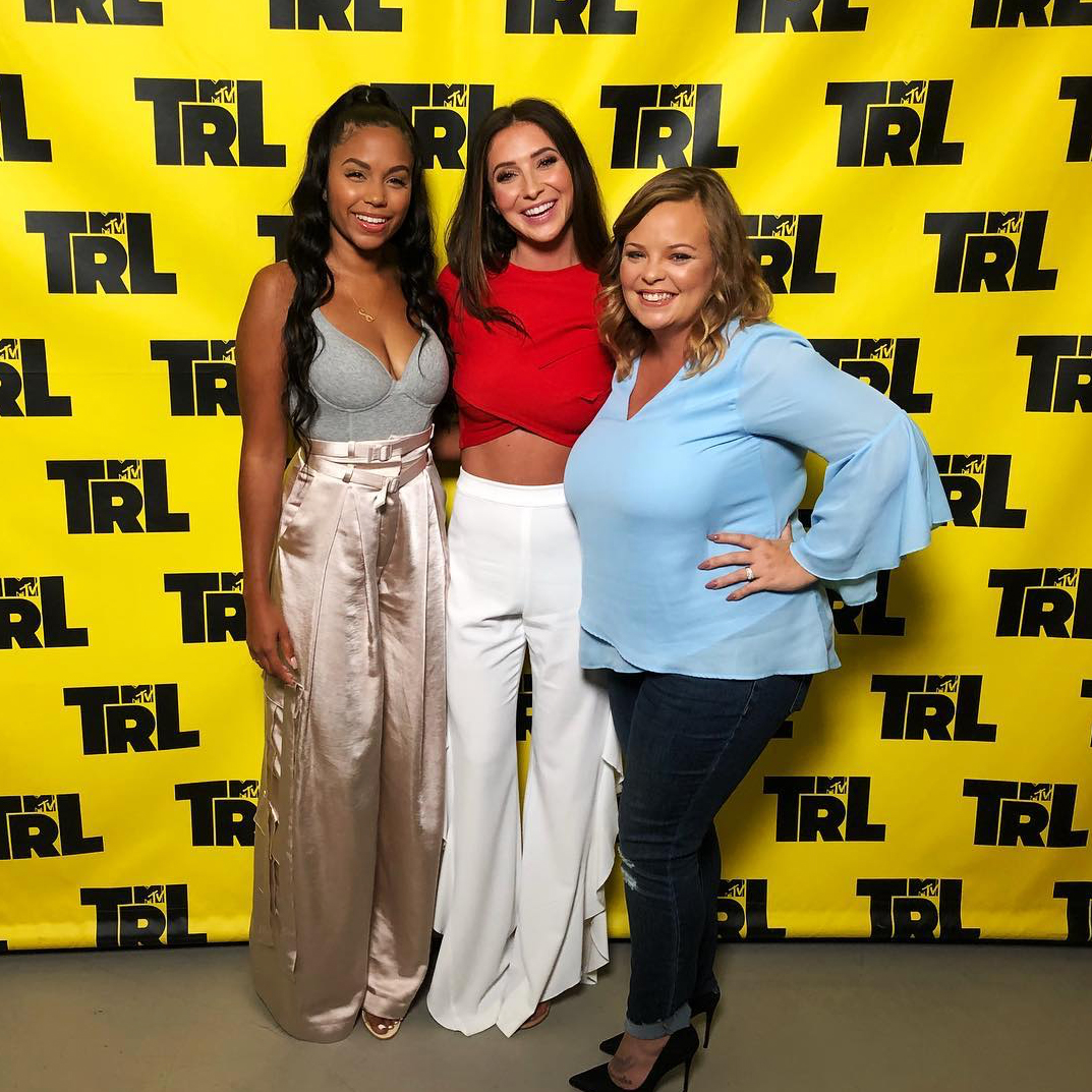"""Cheyenne-Floyd-Bristol-Palin-Lowry - Meanwhile, the cast of Teen Mom OG has been supportive of each other through it all. """"Will definitely miss working with u pretty girl,"""" Bookout commented on Palin's Instagram post announcing she was leaving."""