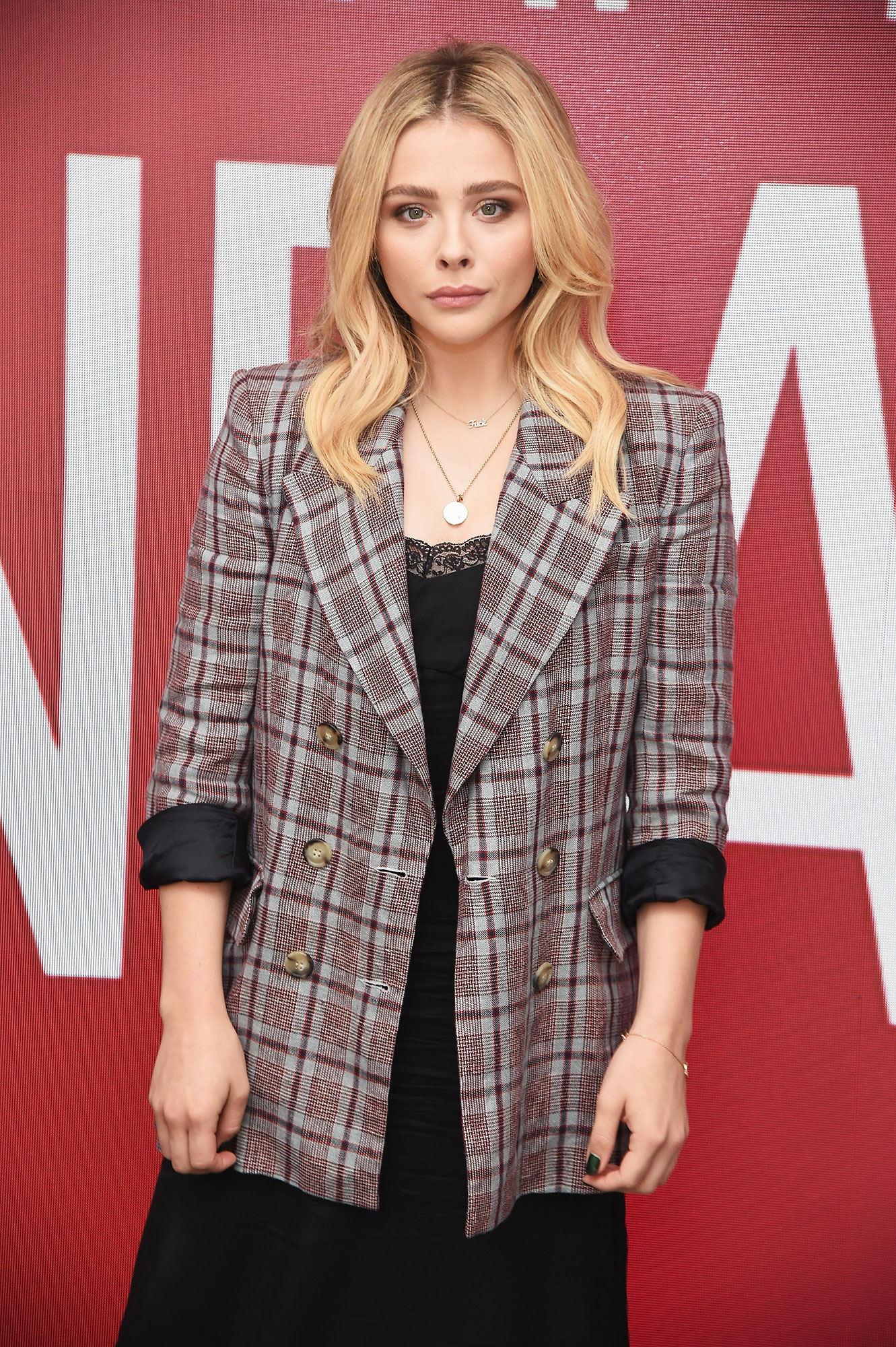 "Chloe Grace Moretz Tells Us Why She Continues to Promote Bare-Skin Beauty and Positivity - Actress Chloe Grace Moretz attends SAG-AFTRA Foundation Conversations: ""The Miseducation Of Cameron Post"" at The Robin Williams Center on July 31, 2018 in New York City."