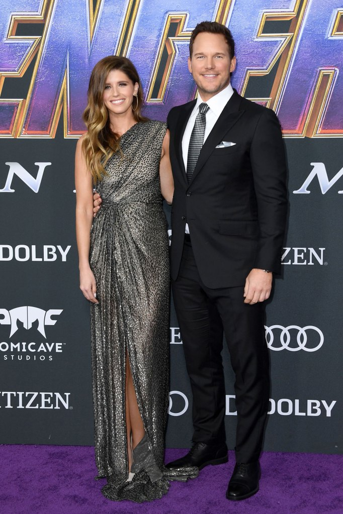 Chris Pratt and Fiancee Katherine Schwarzenegger Make Red Carpet Debut at 'Avengers: Endgame' Premiere