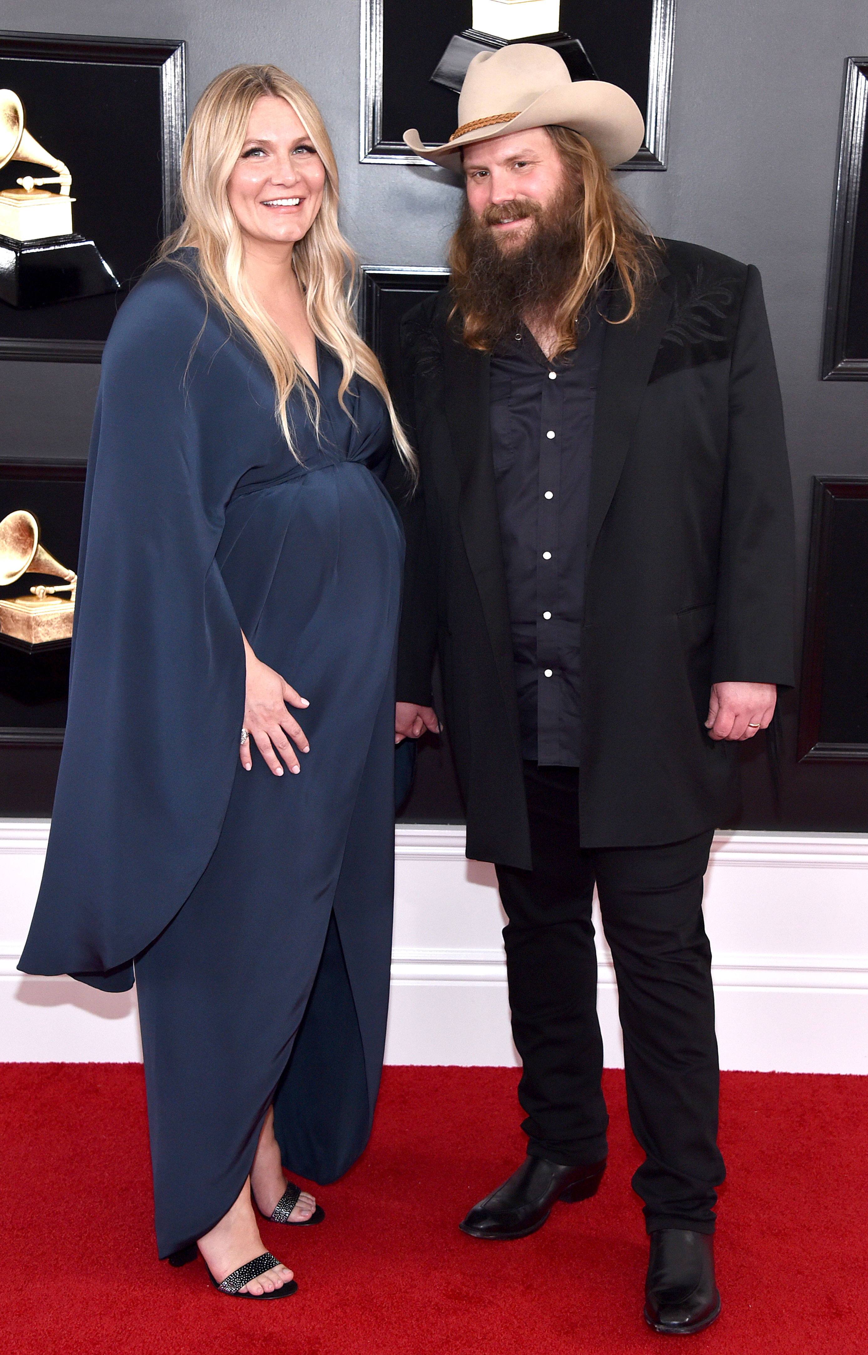 Chris Stapleton's Wife Morgane Gives Birth to Their Fifth Child Together - Morgane Stapleton and Chris Stapleton attend the 61st Annual GRAMMY Awards at Staples Center on February 10, 2019 in Los Angeles, California.