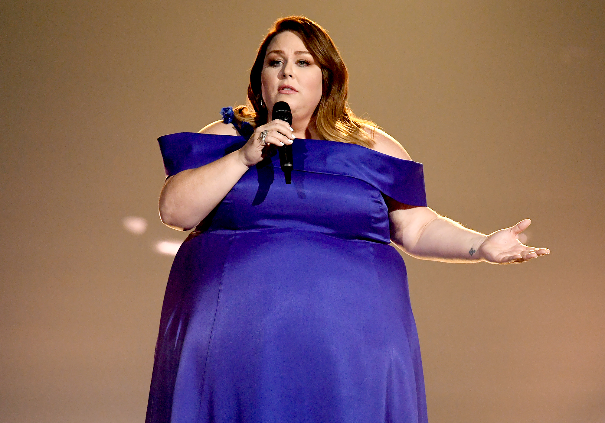 6e3d7409b30 Chrissy Metz Explains How She Landed ACM Awards 2019 Performance: 'I Didn't  Think It Was Going to Happen'