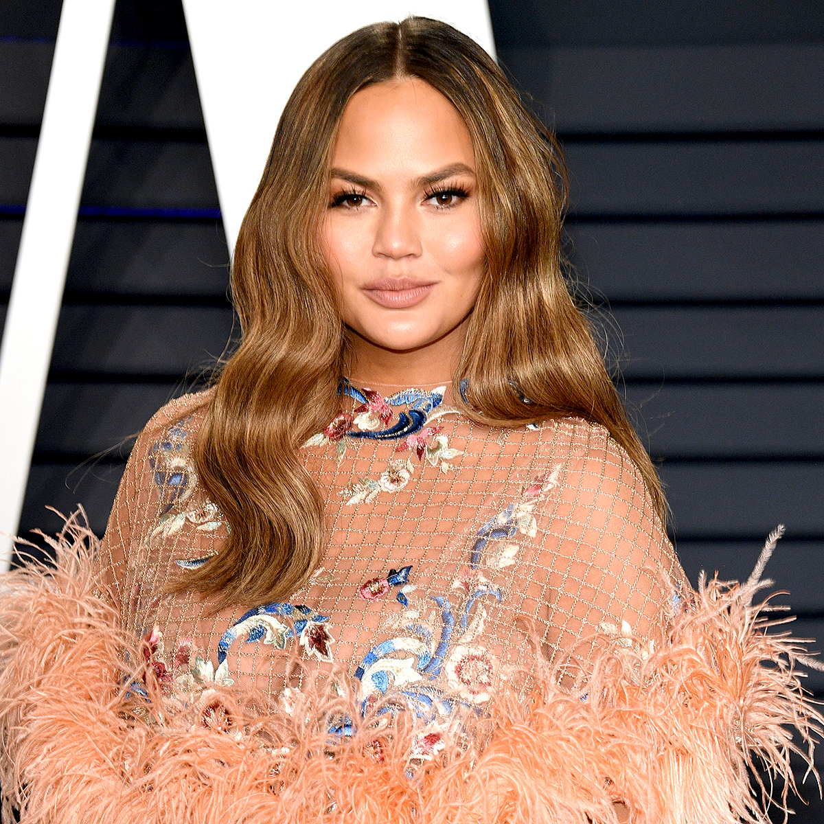 """Chrissy-Teigen - """"I never ever want 50 cent to be mad at me,"""" the Cravings cookbook author tweeted on Sunday."""
