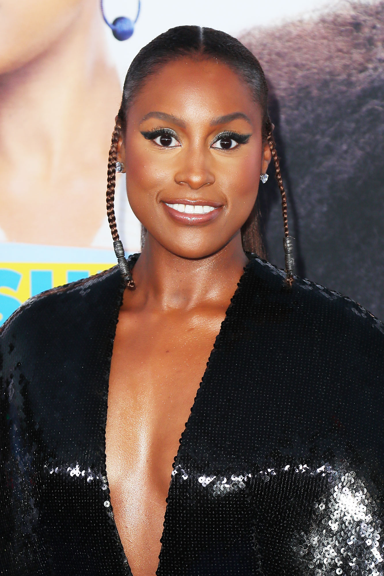 Issa Rae's Petite Plaits - Braids and festival season are a match made in beauty heaven, and we love the dual plaits celeb hairstylist Felicia Leatherwood created for the Little star at the film's premiere on Monday, April 8.