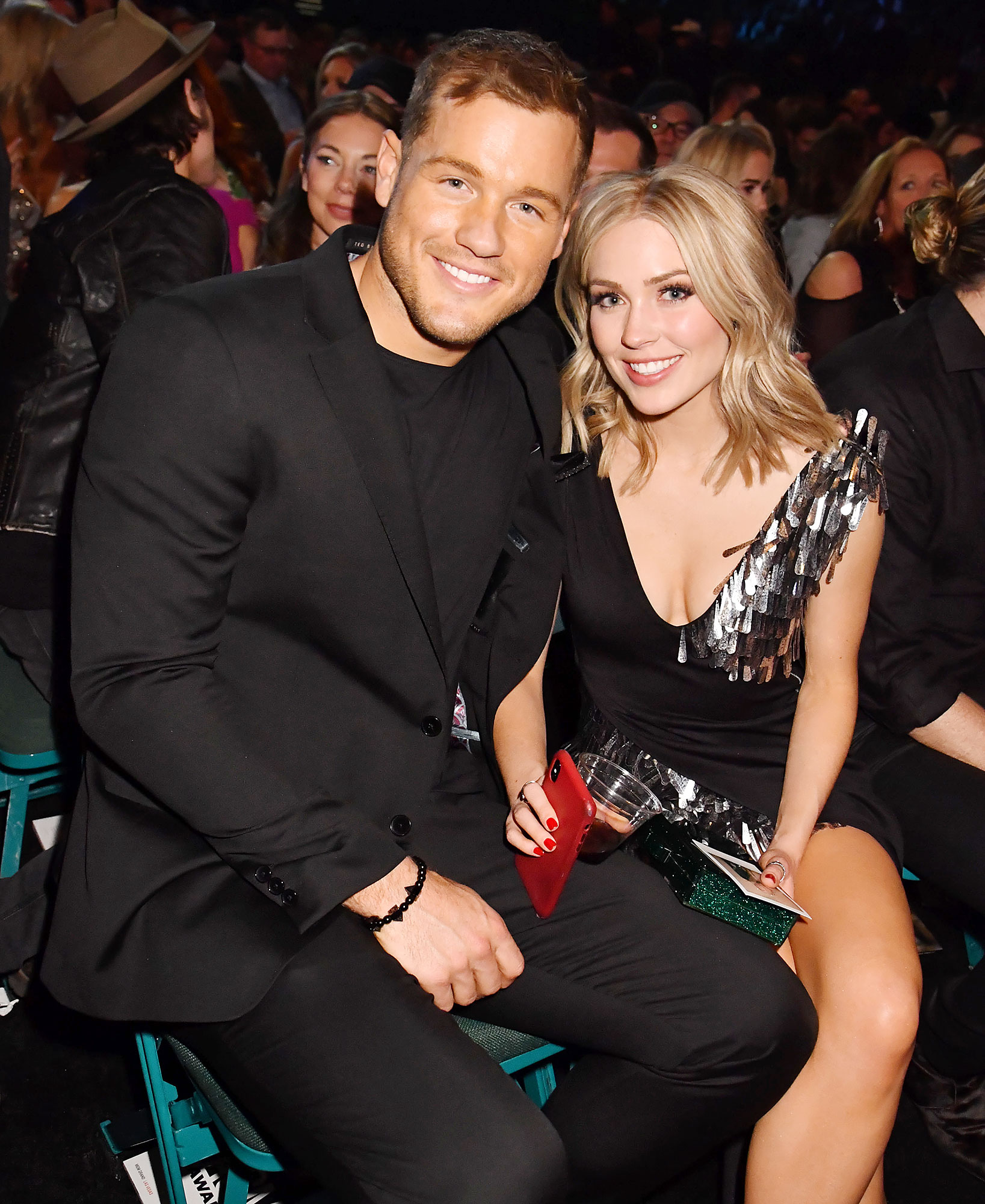 Inside ACM Awards 2019 Colton Underwood Cassie Randolph - The Legacy Foundation owner and the speech pathologist were inseparable during their night out.
