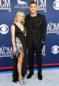 Colton Underwood Cassie Randolph Red Carpet Debut ACM Awards 2019