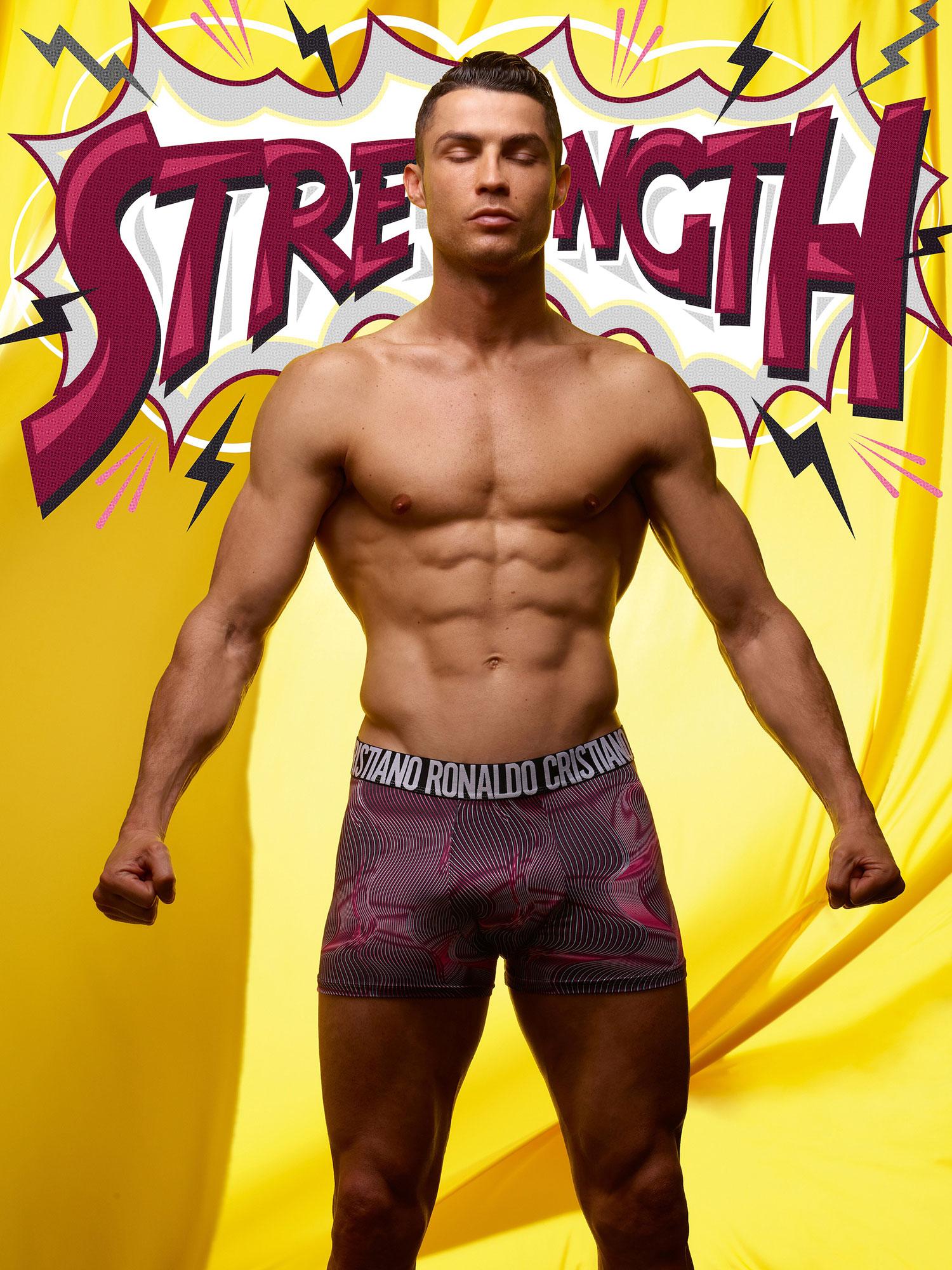 Cristiano Ronaldo CR7 underwear superhero - Cristiano Ronaldo for CR7