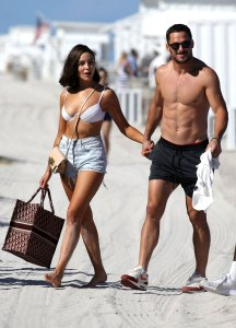 Danny Amendola Olivia Culpo Zedd Get Cozy Coachella