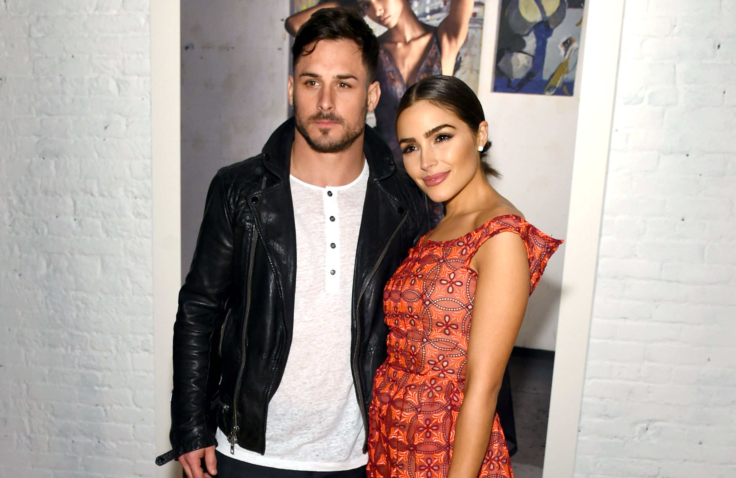 Danny Amendola Takes Blame After Slamming Ex Olivia Culpo - Danny Amendola and Olivia Culpo pose backstage before the Zac Posen collection during, New York Fashion Week: The Shows on February 14, 2017 in New York City.