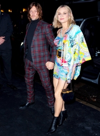 Diane-Kruger-and-Norman-Reedus-talk-daughter