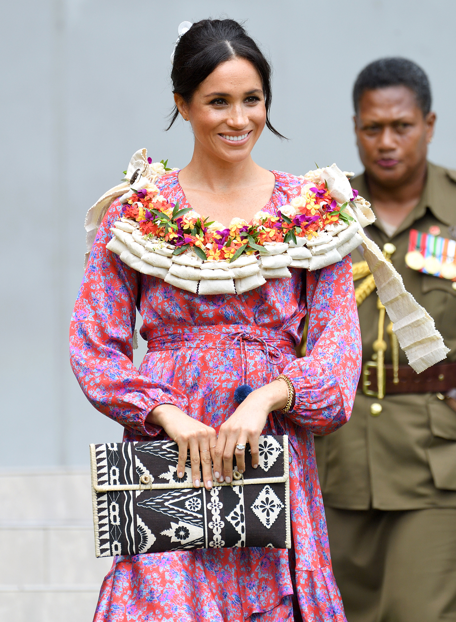 Differences Duchess Meghan Duchess Kate During Pregnancy - Because of her hyperemesis gravidarum diagnosis, Kate didn't travel much during her pregnancy, but Meghan has been globe-trotting. Not only was she on a royal tour with Harry when Kensington Palace confirmed that she is pregnant, but she flew to New York City for a baby shower in February 2019.