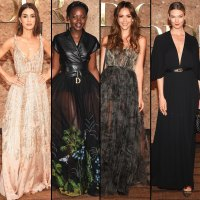 Dior Resort Show Front Row Camila Coelho, Lupita Nyong'o, Jessica Alba, and Karlie Kloss