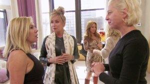 Ramona Singer and Dorinda Medley Dorinda Accuses Ramona of Table Hopping in 'RHONY' Sneak Peek