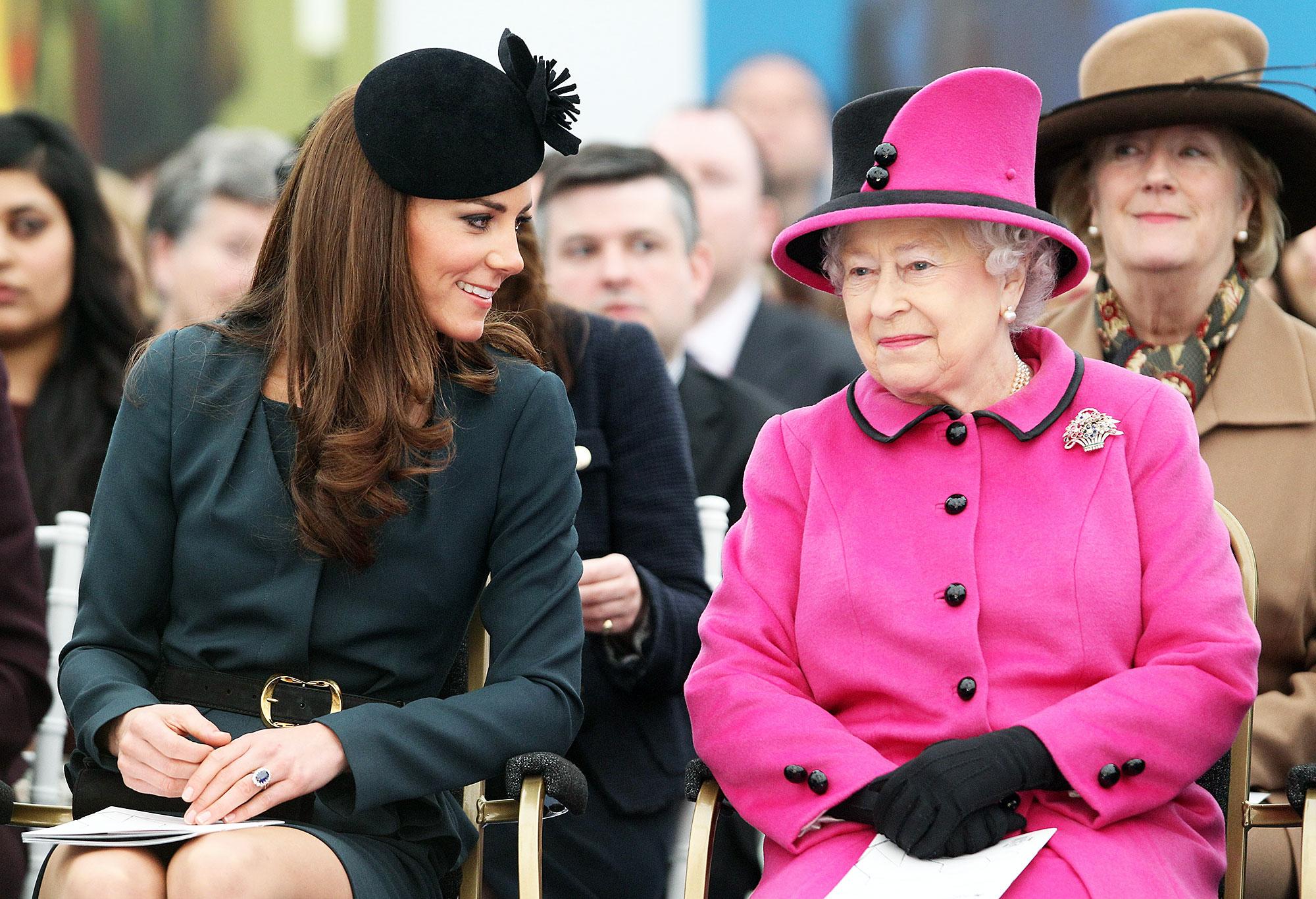 Duchess Kate Queen Elizabeth Special Bond