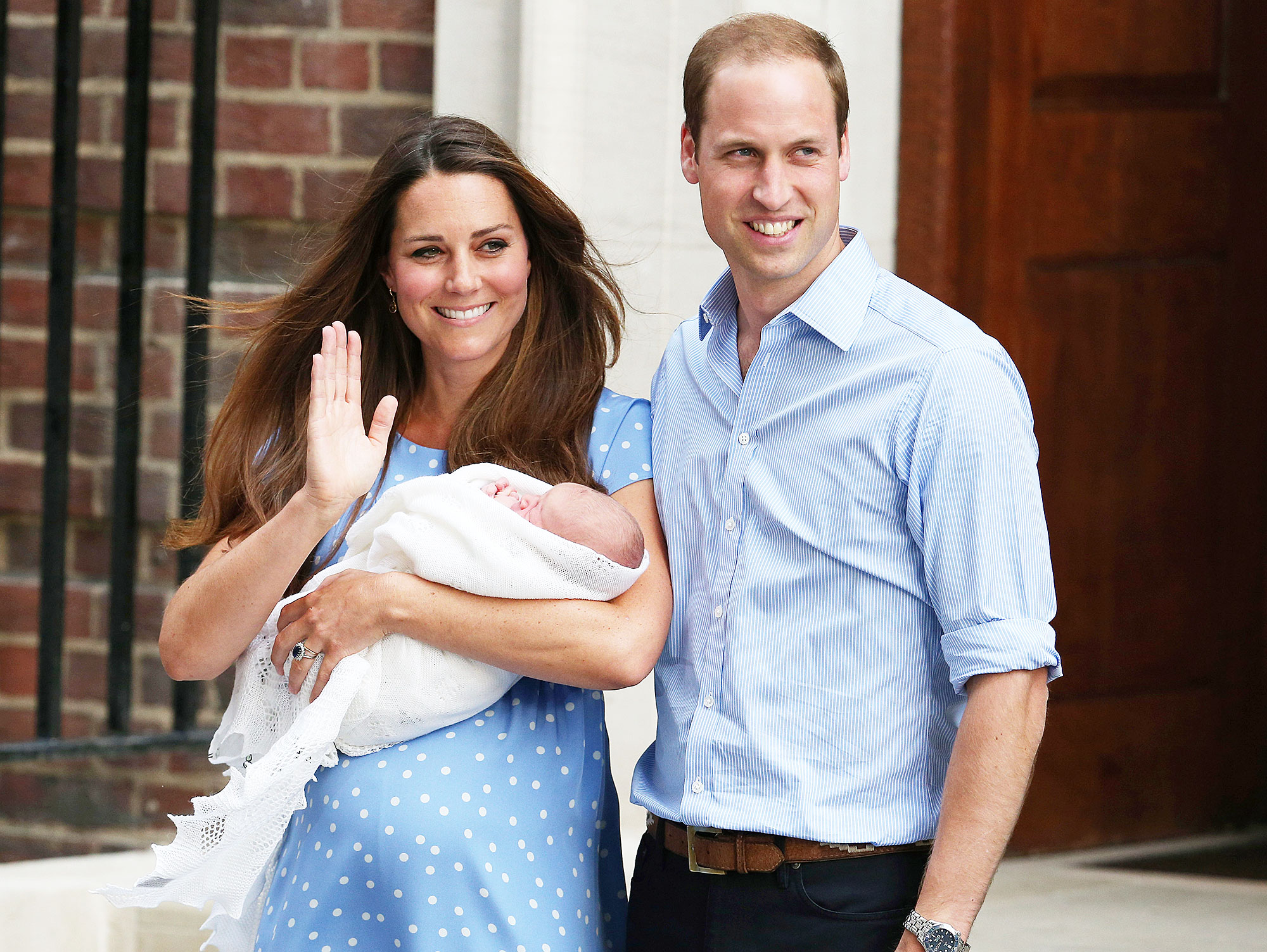 Duchess Meghan Royal Baby Photo Op Duchess Kate Prince William Prince George
