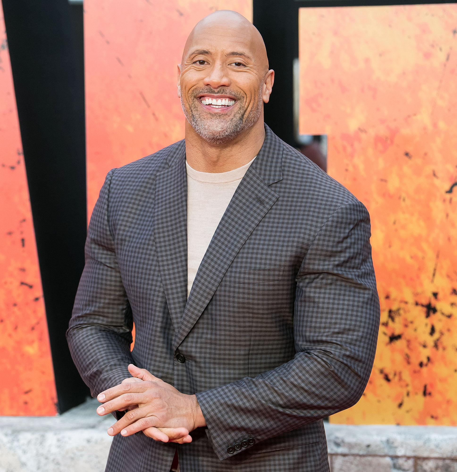 Dwayne Johnson The Rock Tiana First Birthday - Dwayne Johnson attends the European Premiere of 'Rampage' at Cineworld Leicester Square on April 11, 2018 in London.