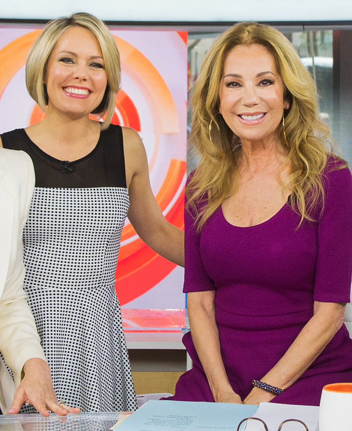 """Dylan-Dreyer,-Kathie-Lee-Gifford - """"She is totally and completely herself. She was being herself before it was cool. She took a lot of flack for it; she put herself out there and she has this staying power. We love her. When she showed her true self, it was embraced by people."""""""