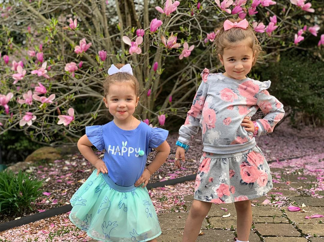 Easter Kids - Kevin and Danielle Jonas ' daughters delivered all the sass with their Easter 2019 outfits.