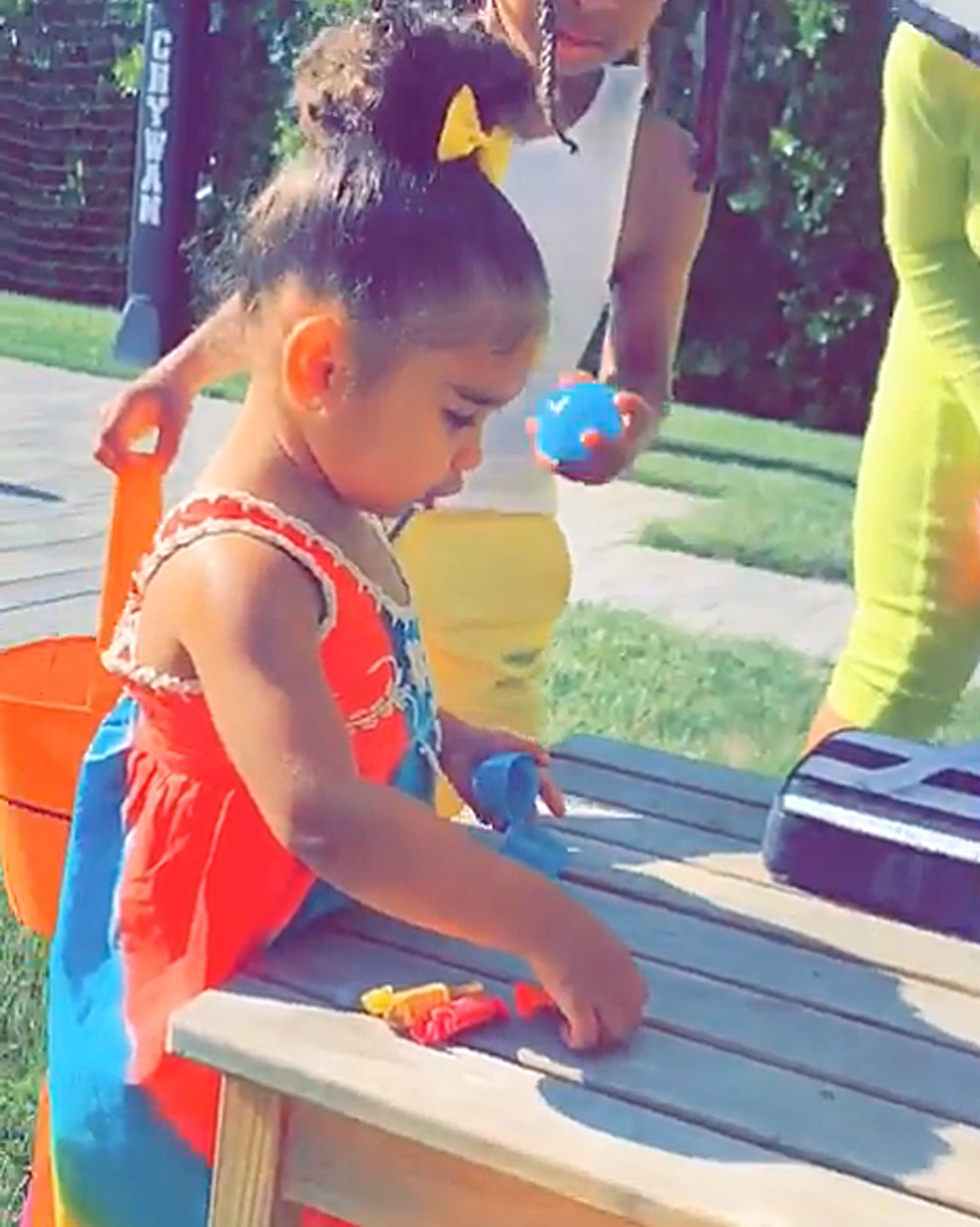 "Easter Kids - ""The hunt begins,"" Blac Chyna captioned a video of her baby girl finding Easter eggs."