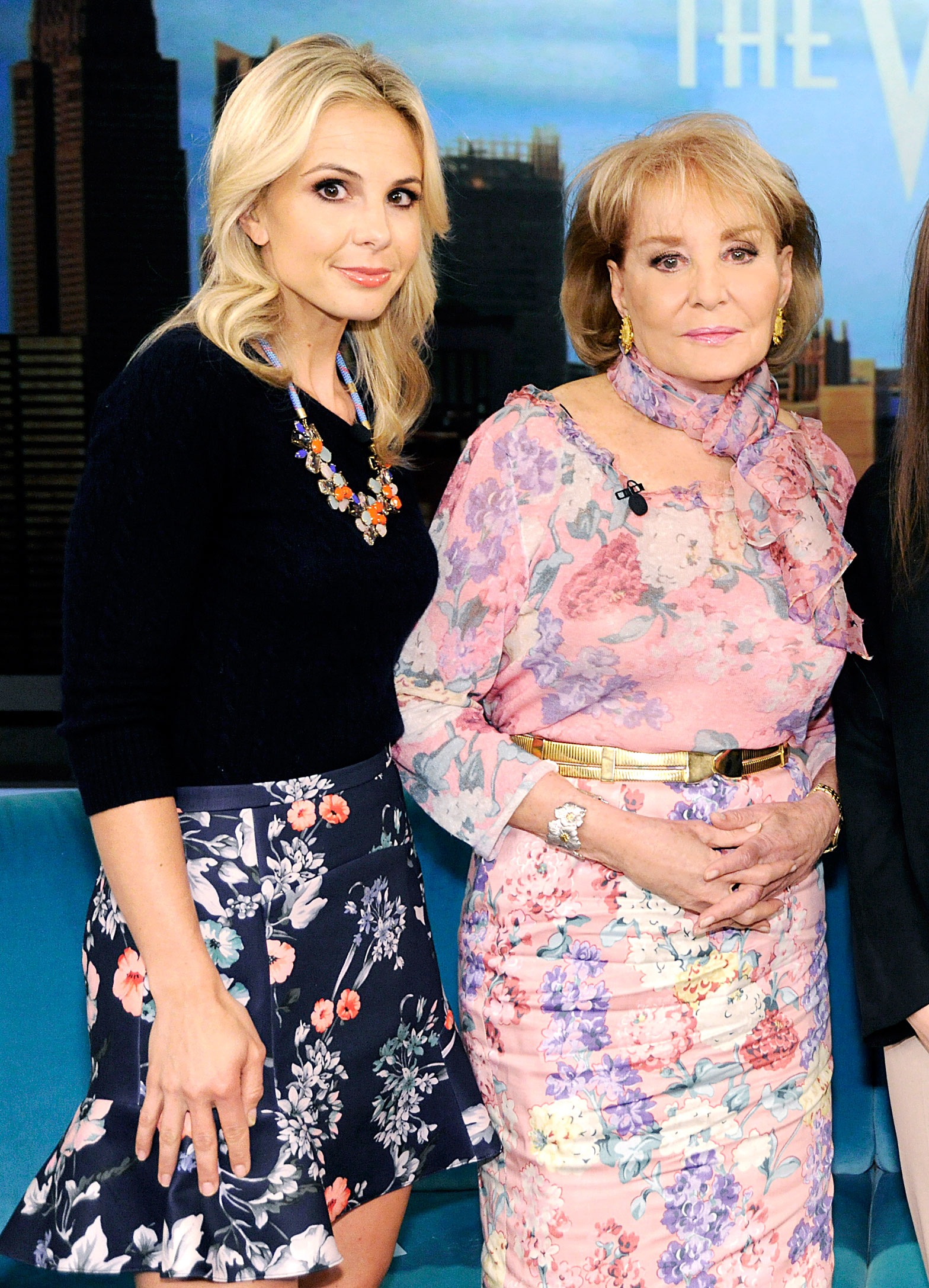 Elisabeth Hasselbeck Once Tried to Quit 'The View' After Barbara Walters Fight - Elisabeth Hasselbeck and Barbara Walters on 'The View'.