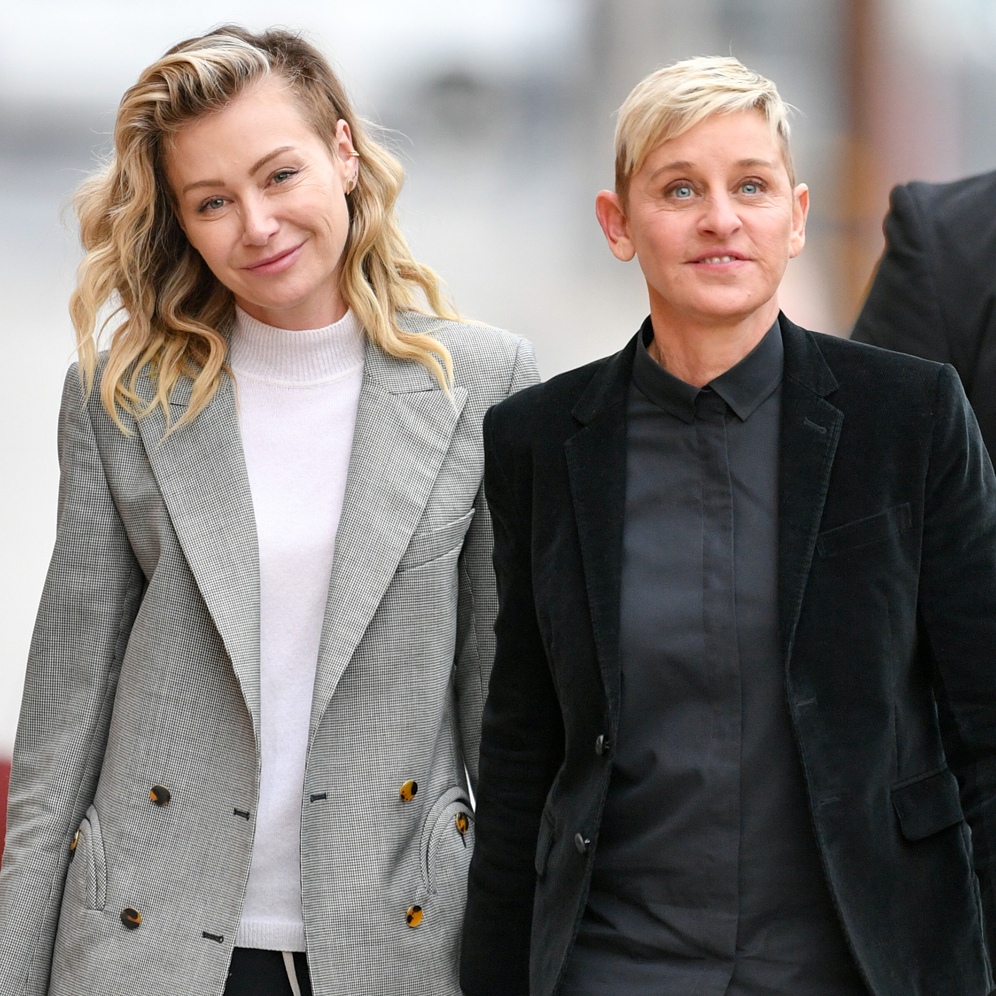 Ellen DeGeneres' Mom Betty DeGeneres Says Her Daughter Won't Have a Baby With Wife Portia de Rossi - Ellen DeGeneres with Portia de Rossi.