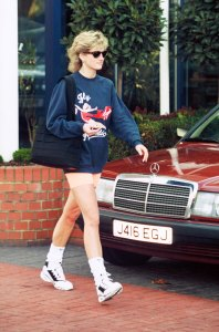 Princess Diana bike shorts