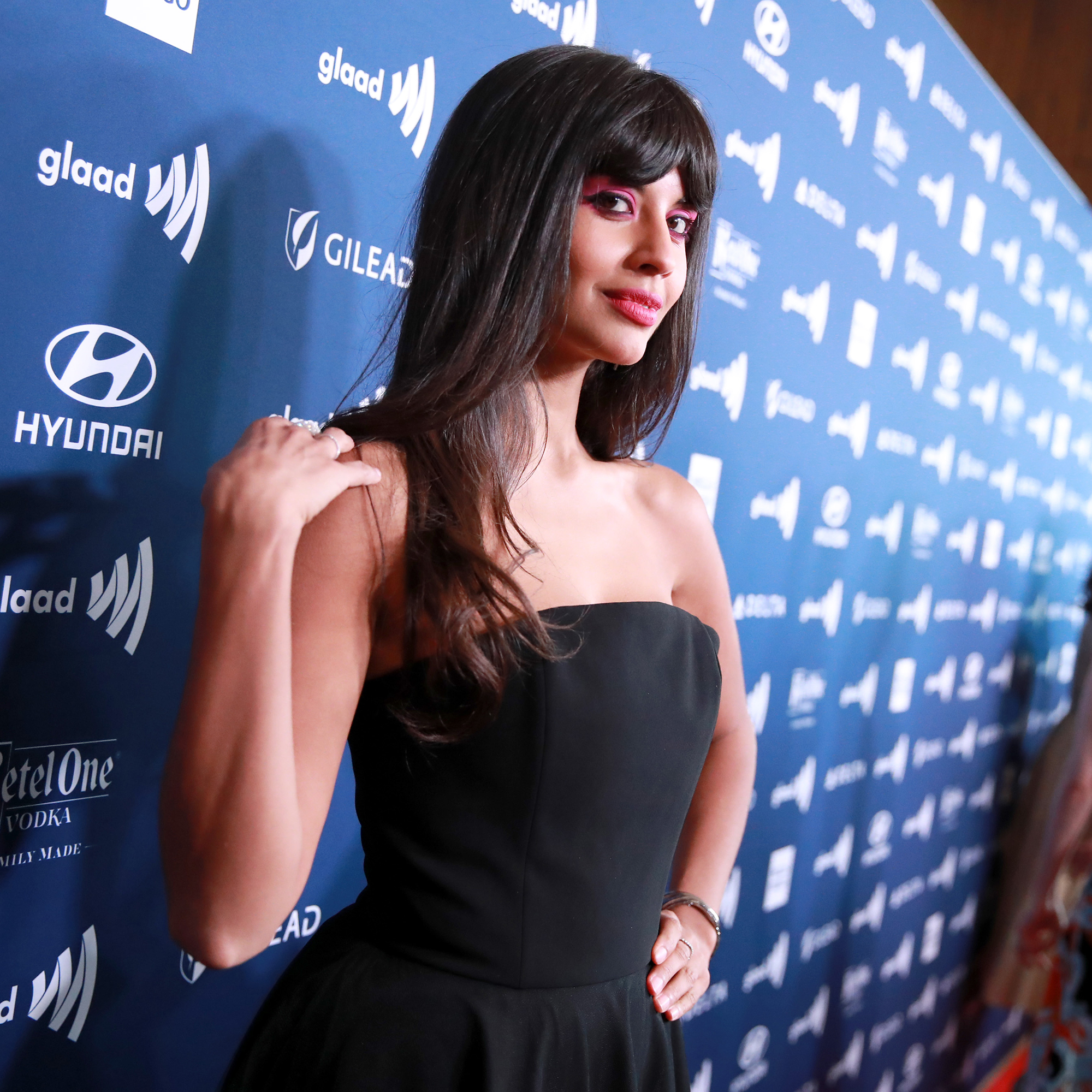 Everything Jameela Jamil Has Ever Said About Body-Shaming Culture - Jameela Jamil attends the 30th Annual GLAAD Media Awards Los Angeles at The Beverly Hilton Hotel on March 28, 2019 in Beverly Hills, California.