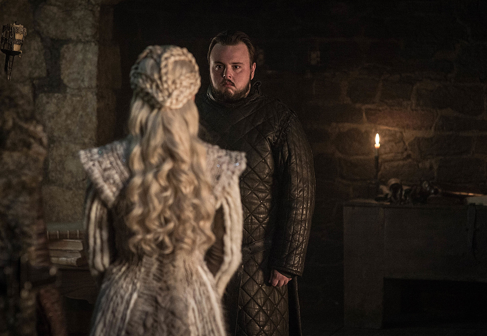 Emilia Clarke Game of Thrones braids hairstyles hair John Bradley - The Mother of Braids — ahem — Dragons kicked off season eight with the most perfect plaits.
