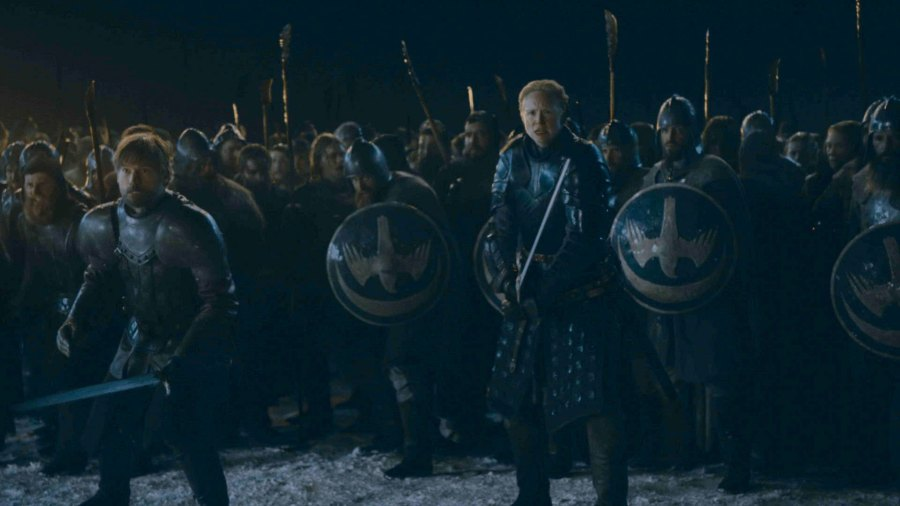 Game of Thrones Ep 3 Season 8 Jaime Lannister Brienne of Tarth