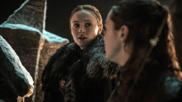 Game of Thrones Ep 3 Season 8 Sansa Stark Arya Stark