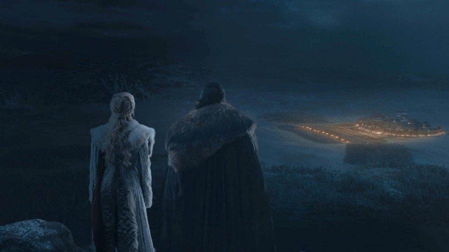 Game of Thrones Ep 3 Season 8 Daenerys Targaryen Jon Snow