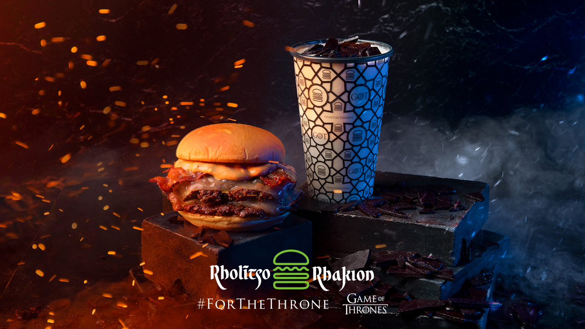 Game of Thrones Final Season Food - The beloved burger chain's GOT -themed menu debuted at New York City's Madison Square Park location before being rolled out across the country on April 12. Dishes offered include the Dragonglass Shake and the Dracarys Burger.