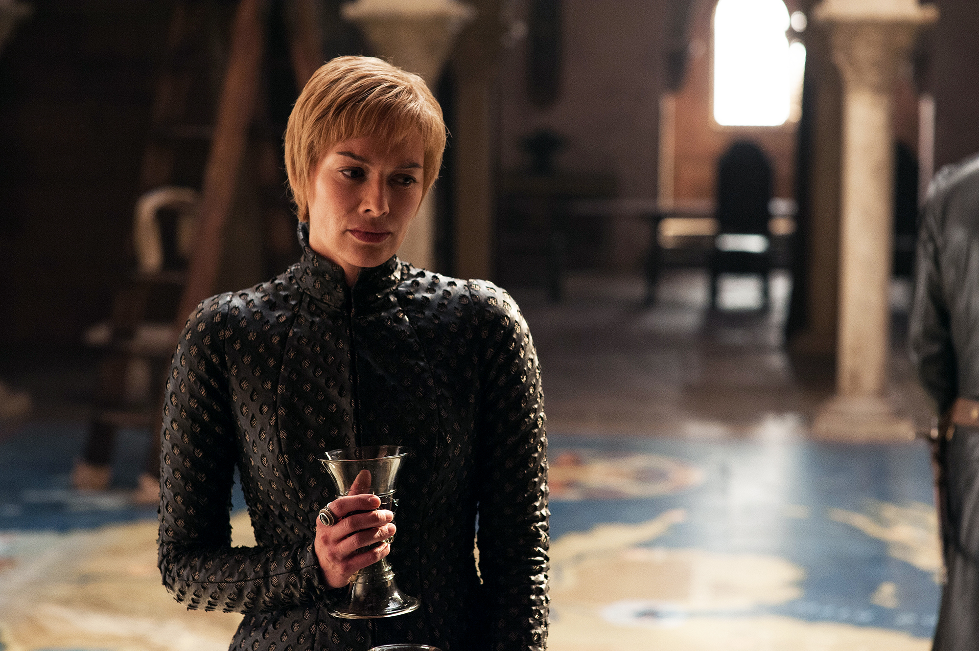 Game of Thrones Final Season Food - Lena Headey as Cersei Lannister on 'Game of Thrones.