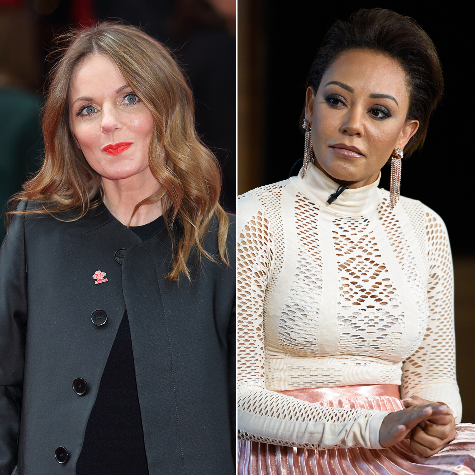 Geri Halliwell Calls Mel B's Sex Claims 'Simply Not True' and 'Very Hurtful'
