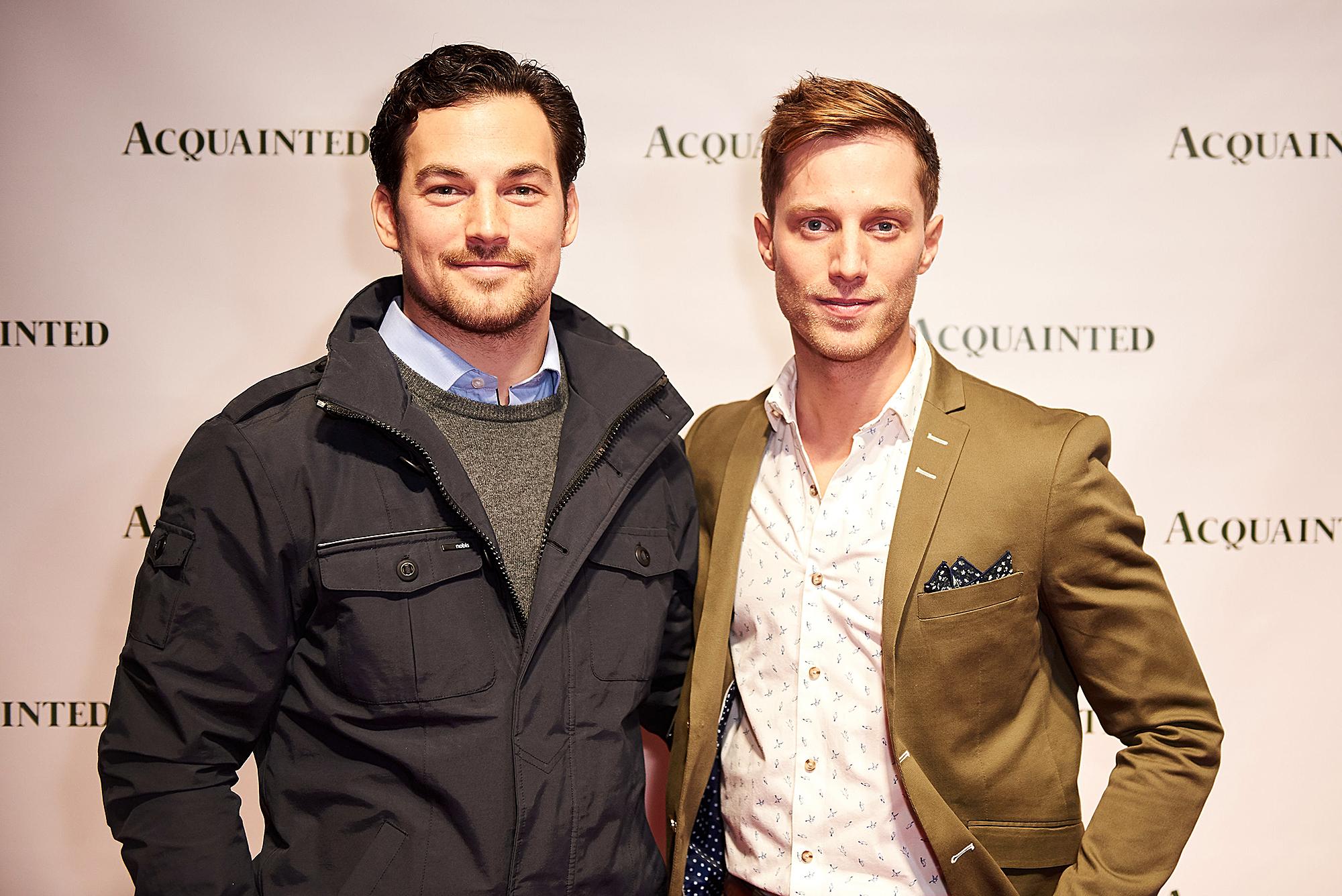 Giacomo Gianniotti and Jonathan Keltz