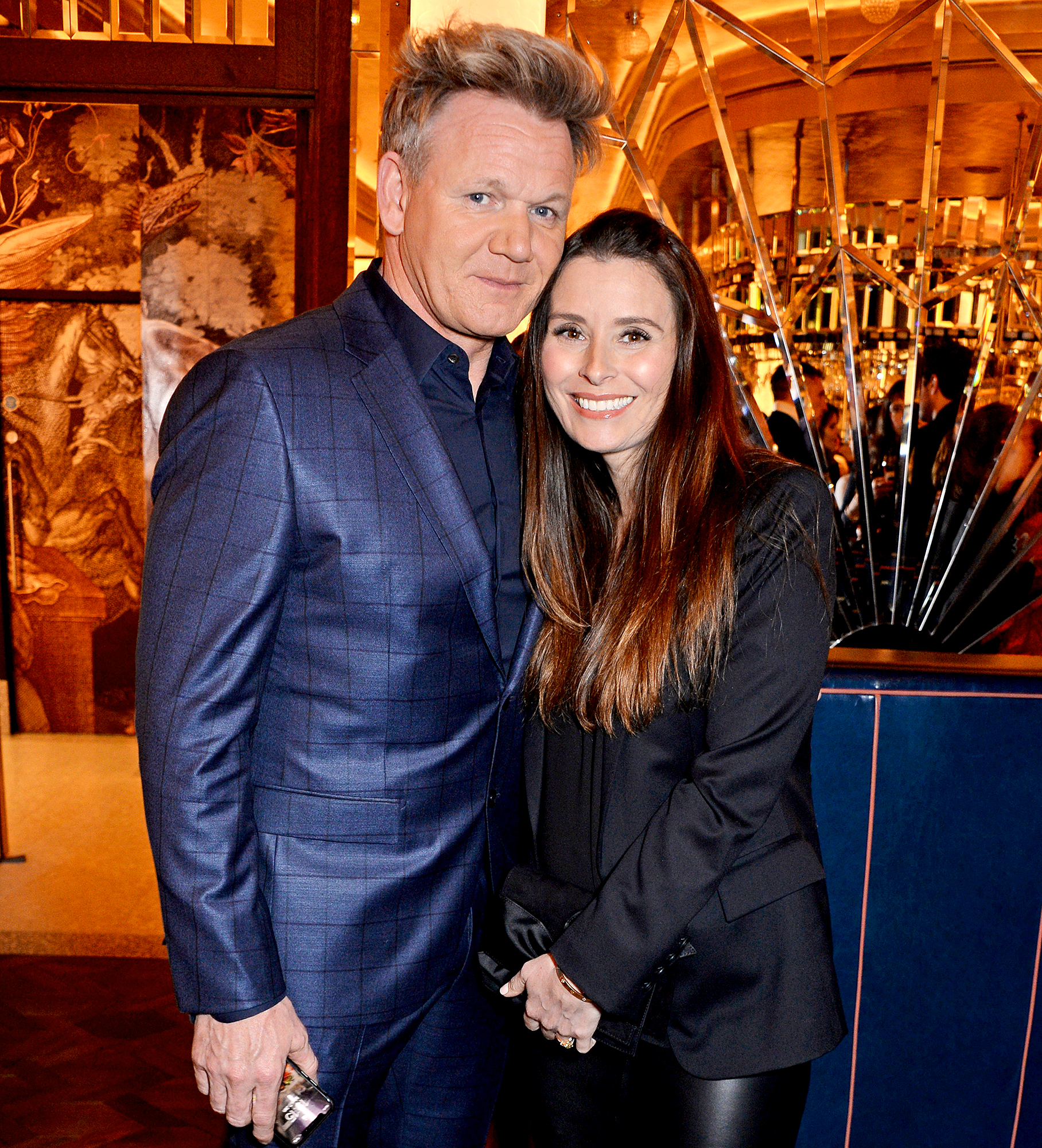 Gordon-Ramsay-and-Tana-Ramsay-give-birth - Gordon Ramsay and Tana Ramsay attend the GQ dinner hosted by Dylan Jones and David Beckham to celebrate London Fashion Week Men's January 2019 at Brasserie Of Light in Selfridges on January 7, 2019 in London, England.