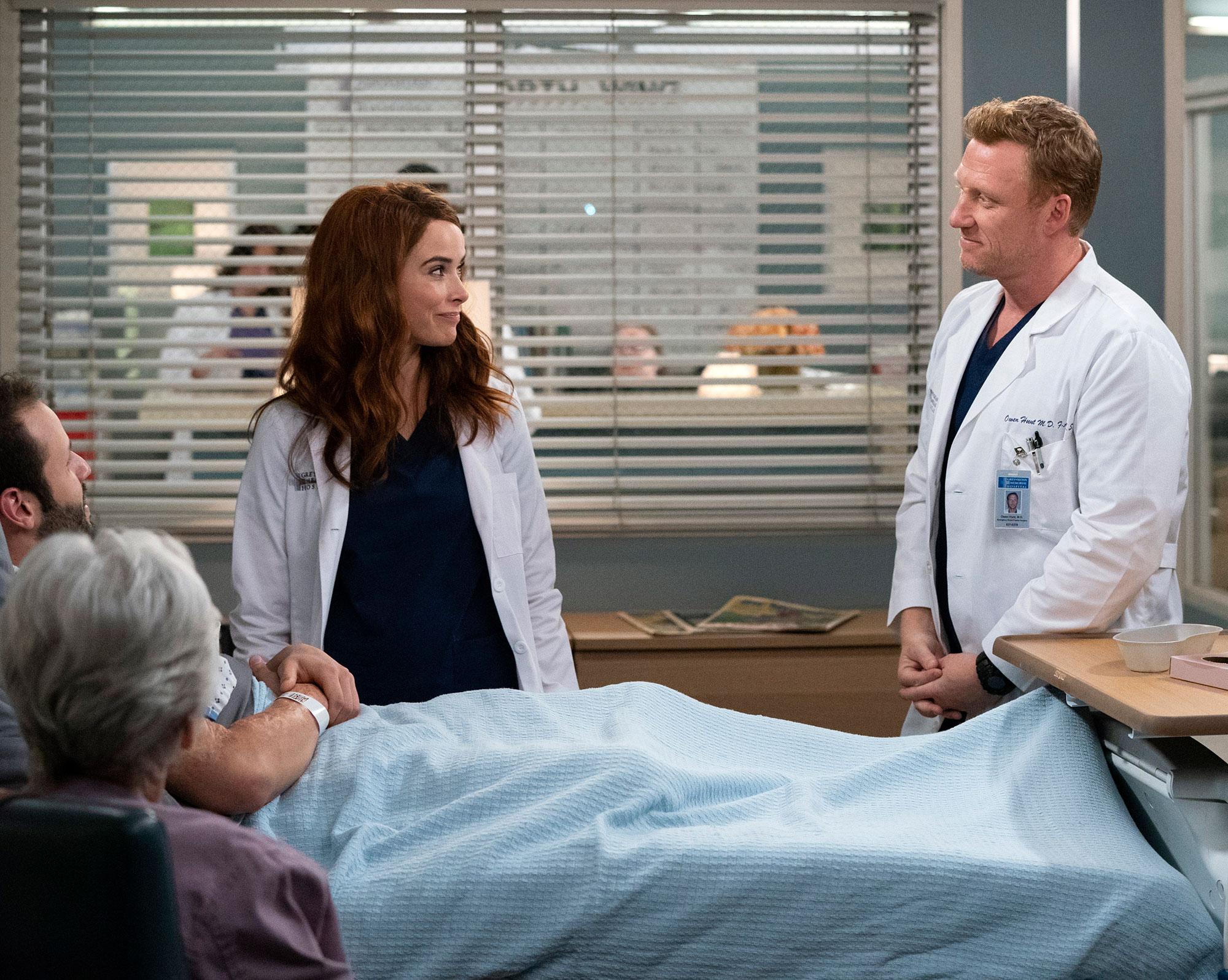 Greys Anatomy - Abigail Spencer and Kevin McKidd in 'Grey's Anatomy.