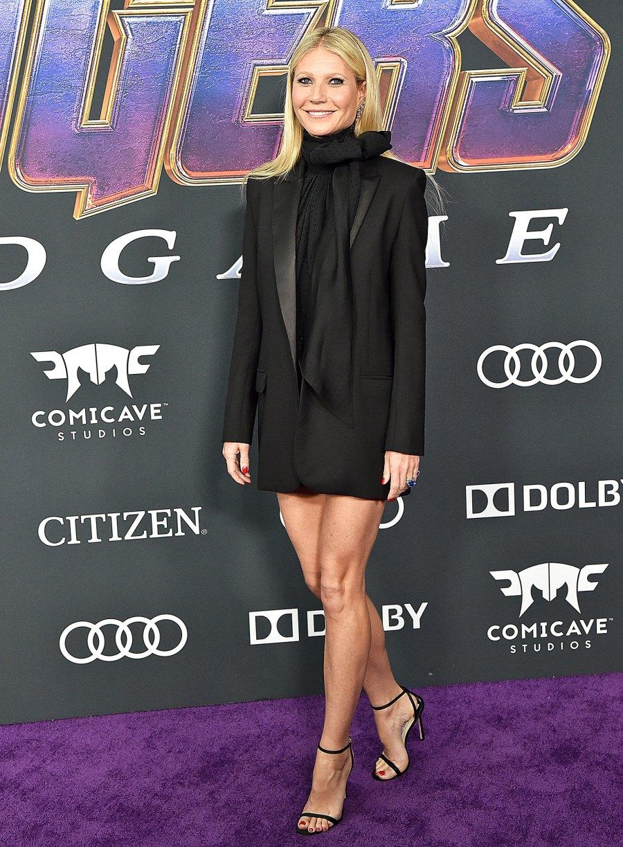 Gwyneth Paltrow World Premiere of Walt Disney Studios Motion Pictures 'Avengers: Endgame'