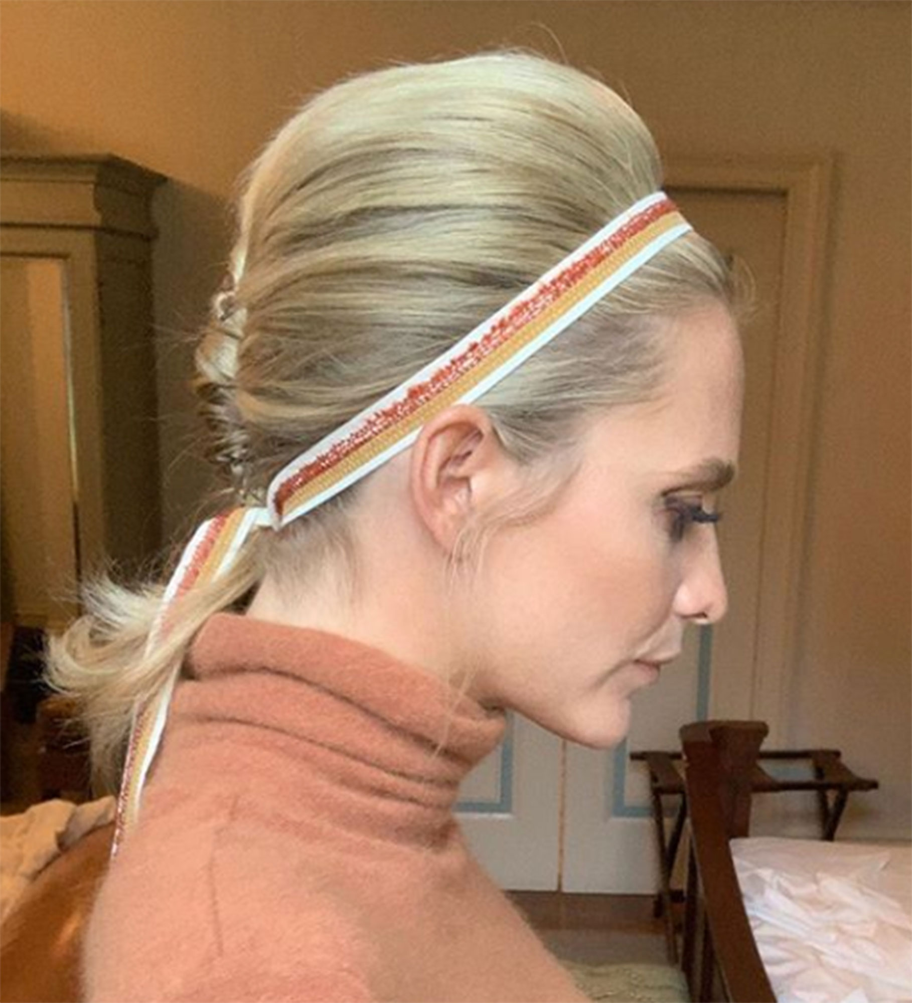 """Hailee Steinfeld¹s Hairstylist Spills 5 Coachella Tress Tips - As Poppy Delevingne proves, a hair accessory adds a playful touch to any look, and Polko believes """"anything is possible"""" when it comes to the extras. """"I love adding a few colorful hair ties or ribbons to a normal ponytail and turning it into a fun bubble pony,"""" she says."""